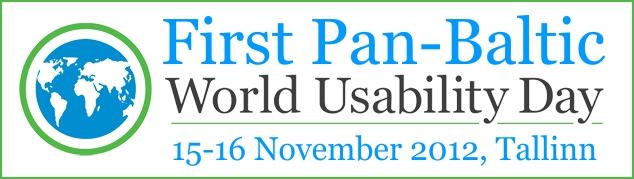 Pan-Baltic World Usability Day 2012